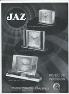Dessin Publicitaire Jaz Reveil De Precision Dos Interessant - Advertising