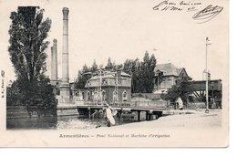 ARMENTIERE : Pont National Et Machine D'Irrigation - Armentieres