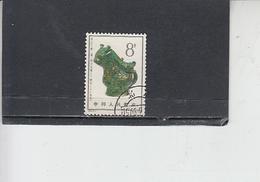 CINA   1963 - Farfalla - 1949 - ... Repubblica Popolare