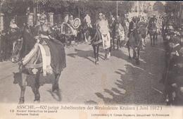 Asse Assche 600 Jarige Jubelfeesten Der Mirakuleuze Kruisen 1912 Nr 13 Keizer Heraclius Te Paard - Asse