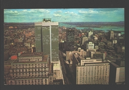 Montreal - Bird's Eye View Of Downtown Montreal - 1967 - Montreal
