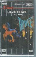 """K7 Audio - DAVID BOWIE  """" LET'S DANCE """"  8 TITRES - Cassettes Audio"""