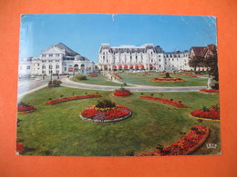 CPA     Cabourg   1978  -  Les Jardins Du Casino - Cabourg