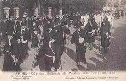Asse Assche 600 Jarige Jubelfeesten Der Mirakuleuze Kruisen 1912 Nr 16 Groep Pelgrims - Asse