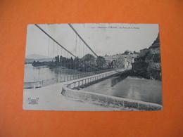 CPA     Environs D'Yenne  1909  -  Le Pont De La Balme - Yenne