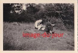 Photo Ancienne  Couple Gay Garçon Amoureux Flirt - Anonymous Persons