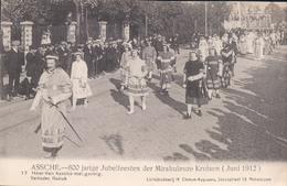 Asse Assche 600 Jarige Jubelfeesten Der Mirakuleuze Kruisen 1912 Nr 17 Heer Van Assche Met Gevolg - Asse