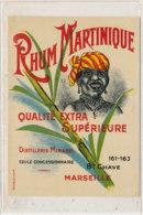 972  / ETIQUETTE  DE RHUM- MARTINIQUE DISTILLERIE MIRABEL MARSEILLE - Rhum