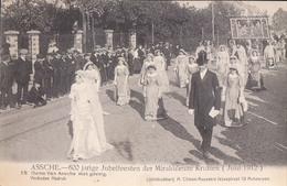 Asse Assche 600 Jarige Jubelfeesten Der Mirakuleuze Kruisen 1912 Nr 18 Dame Van Assche Met Gevolg - Asse