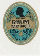 975  / ETIQUETTE  DE RHUM- MARTINIQUE - Rhum