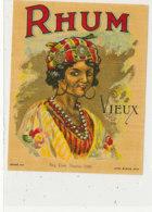 978  / ETIQUETTE  DE RHUM- VIEUX - Rhum