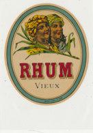 981  / ETIQUETTE  DE RHUM- VIEUX - Rhum