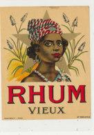 982  / ETIQUETTE  DE RHUM- VIEUX - Rhum