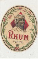 984  / ETIQUETTE  DE RHUM- VIEUX - Rhum