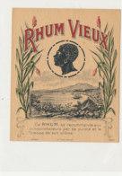 985  / ETIQUETTE  DE RHUM- VIEUX - Rhum