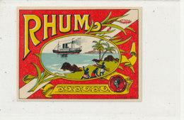 988  / ETIQUETTE  DE RHUM- - Rhum