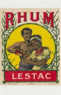989  / ETIQUETTE  DE RHUM-LESTAC - Rhum