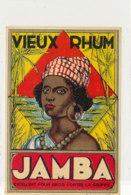 994  / ETIQUETTE  DE RHUM- VIEUX  JAMBA - Rhum