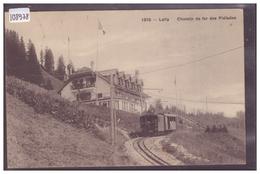 DISTRICT DE VEVEY - LALLY - CHEMIN DE FER DES PLEIADES - TRAIN - BAHN - ( PLI HORIZONTAL EN BAS ) - VD Vaud