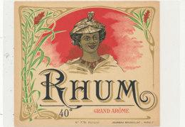 1004  / ETIQUETTE  DE RHUM   GRAND AROME - Rhum