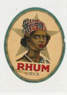 1006  / ETIQUETTE  DE RHUM   VIEUX - Rhum