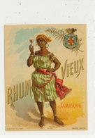 1010  / ETIQUETTE  DE RHUM   VIEUX  JAMAIQUE - Rhum