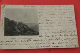 Imperia Triora Corso Prinncipe Amedeo 1904 Segno Di Piega Centrale - Italie