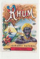 1014  / ETIQUETTE  DE RHUM    LEOPOLD LEFEVRE - Rhum