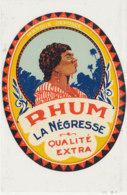 1019  / ETIQUETTE  DE RHUM   LA NEGRESSE - Rhum