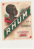 1023  / ETIQUETTE  DE RHUM  SUPERIEUR  LES ECONOMIQUES - Rhum