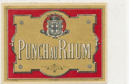 1025  / ETIQUETTE  DE RHUM    PUNCH AU RHUM - Rhum
