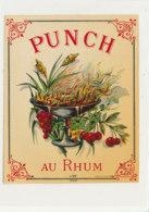 1027  / ETIQUETTE  DE RHUM      PUNCH AU RHUM - Rhum
