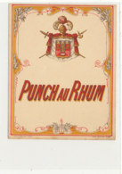1028  / ETIQUETTE  DE RHUM      PUNCH AU RHUM - Rhum