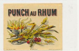 1029  / ETIQUETTE  DE RHUM      PUNCH AU RHUM - Rhum
