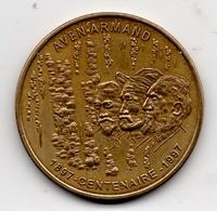 Aven Armand - 48 : Centenaire Des Grottes (Monnaie De Paris, 1997) - Monnaie De Paris