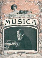 Musica N°9 EDV. Grieg & Le Quatuor Johannes Wolff - Henry VIII à L'opéra - Une Leçon De Mandoline Par Jules Cottin 1903 - 1900 - 1949