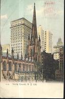 Trinity Church N.Y . City PC 1909 - Églises
