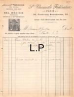 19-0815   SOURCE MEDICIS SOCIETE THERMALE FEDERATIVE A PARIS - M. LE DOCTEUR GUILHON A NANTES - 1900 – 1949