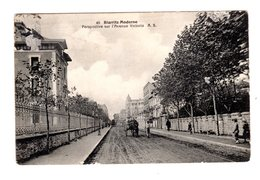 CPA 64 - Biarritz - Perspective Sur L'avenue Victoria - Biarritz