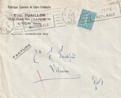 *** 69  *** TUAILLON Fabrique De Cuir Emboutis  - Enveloppe Illustrée - Agricultura