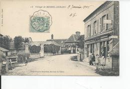 MESNIL DURAND    POSTES RECETTE AUXILLAIRE 1906 - France