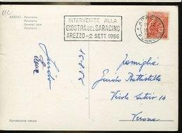 41901 Italia, Special Postmark Arezzo 1956 Giostra Del Saracino, Historical Folkloristic Event - Italia