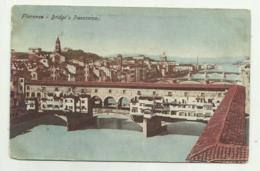 FLORENCE ( FIRENZE ) BRIDGE'S PANORAMA NV FP - Firenze