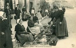Carte Postale Ancienne Corrèze Tulle Maraichères Corrèziennes 1908 Types Du Centre - Tulle