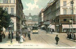 N°69183 -cpa Le Havre -la Rue De Paris- - Autres