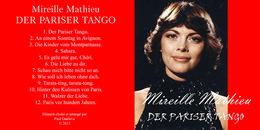 Superlimited Edition CD Mireille Mathieu. DER PARISER TANGO - Collector's Editions
