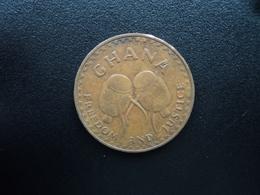 GHANA : 1 PESEWA   1967   KM 13     TTB - Ghana