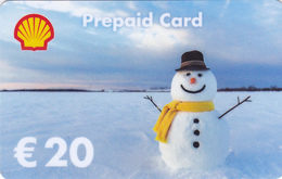 Gift Card - - - Germany / Allemagne - - -  Shell - Gift Cards