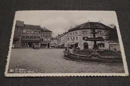 Saint-Hubert,la Place Du Marché,collection,RARE,ancienne Carte Postale - Saint-Hubert