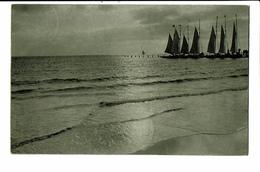 CPA - Carte Postale Belgique - Mer Du Nord - Voiliers-1919 --VM78 - Voile